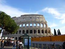 W Rzym Colosseum widok Obraz Stock