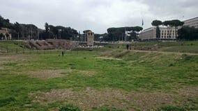 W Rzym cyrkowy Maximus, Włochy Zdjęcie Stock
