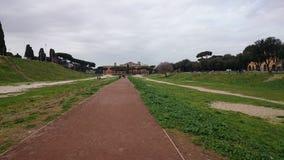 W Rzym cyrkowy Maximus, Włochy Obrazy Stock