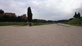 W Rzym cyrkowy Maximus, Włochy Fotografia Stock