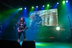 W.A.S.P. in Concert Royalty Free Stock Images
