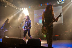 W.A.S.P. in Concert Stock Images