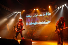 W.A.S.P. in Concert Royalty Free Stock Photos