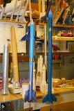 W sala lekcyjnej children sekcja rakieta i widzii pałac dzieci i młodości twórczość obrazy stock