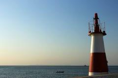 W Salvador mała Latarnia morska de Bahia. Zdjęcia Royalty Free