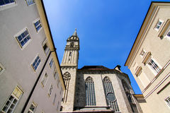 W Salzburg historyczna Architektura Fotografia Stock