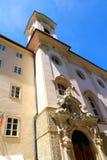 W Salzburg historyczna Architektura Zdjęcie Stock