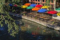 W San Antonio rzeczny Spacer Teksas zdjęcie royalty free