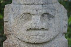 W San antyczne statuy Agustin, Kolumbia Obraz Stock