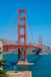 W San Fransisco Złoci Wrota Most Zdjęcia Stock