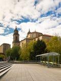 W Santiago San Fransisco klasztor De Compostela Zdjęcia Royalty Free