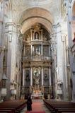 W Santiago San Fransisco klasztor De Compostela Obraz Royalty Free