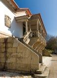 W Santiago uniwersytecki audytorium De Compostela Obrazy Royalty Free