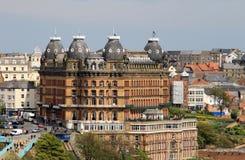W Scarborough uroczysty Hotel Anglia Obraz Royalty Free