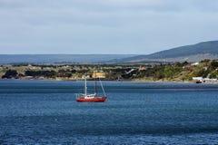W schronieniu port Punta Arenas Fotografia Royalty Free