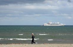 W schronieniu port Punta Arenas Zdjęcie Royalty Free