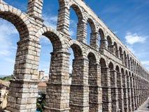 W Segovia romański akwedukt Obrazy Royalty Free