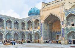 W Sher-Dor Madrasah Zdjęcie Royalty Free