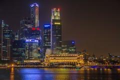 W Singapur Helix Most zdjęcia royalty free