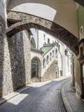 Wąski uliczny Passau Zdjęcia Stock