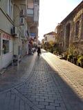Wąskie ulicy Antalya Zdjęcia Stock