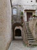 Wąskie ulicy Chorwacki miasto Trogir Zdjęcie Royalty Free