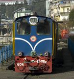 Wąskiego wymiernika dieslowska lokomotywa Obrazy Stock