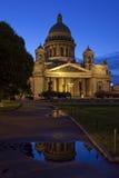 W St St. Katedra Isaac Petersburg Fotografia Stock