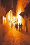 W starym Medina od Fes Maroko Zdjęcia Royalty Free