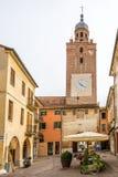 W starym mieście Castelfranco Veneto Zdjęcie Stock