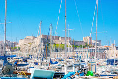 W Starym porcie Marseille Obraz Stock