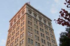 W storico W Edificio di Griest, Lancaster, PA immagini stock libere da diritti