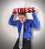 W stresie stresu Mężczyzna Obraz Stock