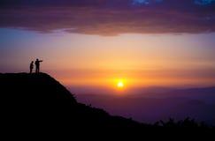 w stronę słońca Obrazy Stock