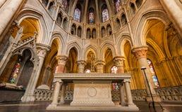 W stronie Notre-Dame katedra - Lausanne, Szwajcaria Obraz Stock