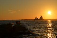 W The Sun Zdjęcie Stock