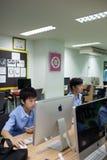 W szkole wyższa w Bangkok, ucznie w komputer klasie Fotografia Royalty Free