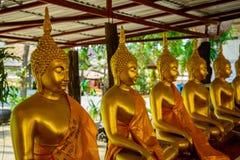W Tajlandia piękny biały Buddha fotografia royalty free