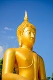 W Tajlandia piękny biały Buddha Obraz Stock