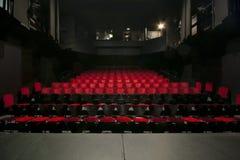W teatrze Zdjęcie Stock