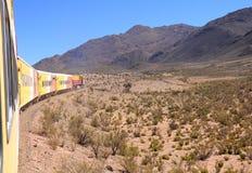 W ten sposób - nazwany Tren lasów nubes'. '(pociąg chmury)' Obrazy Stock
