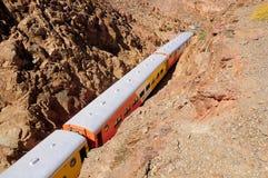 W ten sposób - nazwany Tren lasów nubes'. '(pociąg chmury)' Zdjęcie Stock