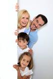 W ten sposób wielki być rodziną Zdjęcie Royalty Free