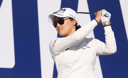 W ten sposób yeon ryu przy ANA inspiraci golfa turniejem 2015 Fotografia Royalty Free