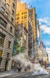 W 45th St royalty free stock photo