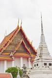 W Thailand buddyjski kościół obrazy royalty free