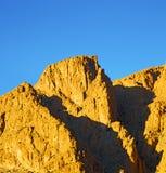 W todra Africa Morocco atlant sucha góra Obraz Royalty Free
