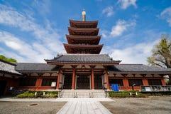 W Tokio Asakusa Świątynia Obrazy Royalty Free