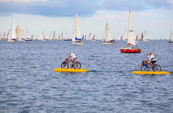 W Trieste Barcolana regatta Obraz Royalty Free