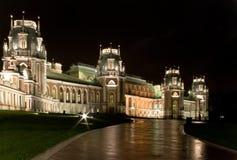 W Tsaritsyno Tsar's noc Fotografia Stock